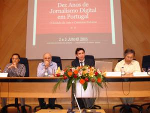 Jornadas 'Dez Anos de Jornalismo Digital em Portugal' (Braga, 2006)