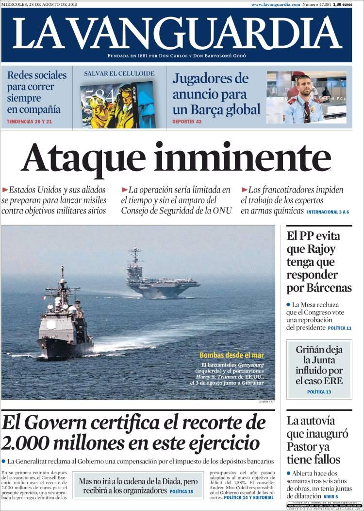 La Vanguardia, 28/8/2013