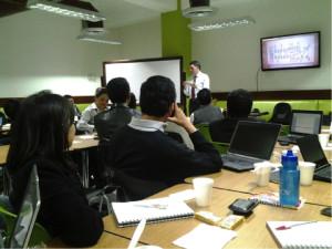 Curso profesional de técnicas digitales para periodistas del diario 'Prensa Libre' (Ciudad de Guatemala)