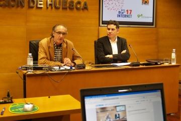 Conferencia en el Día de Internet - Diputación de Huesca