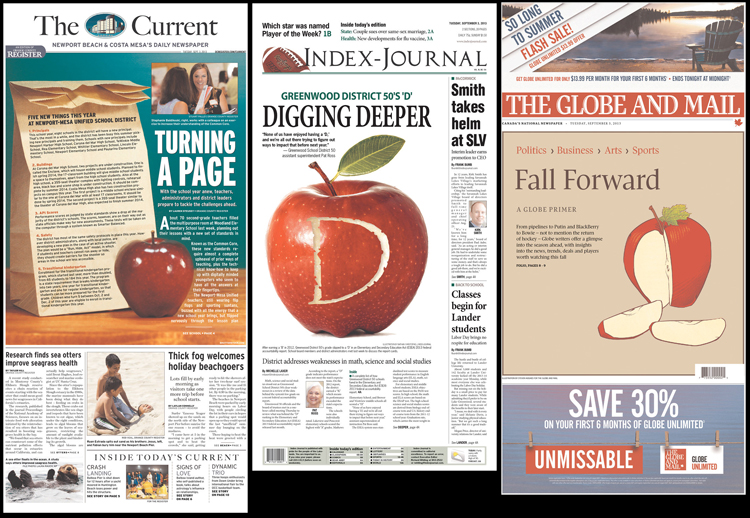 «The Current», «Index-Journal» y «The Globe and Mail», 3/9/2013