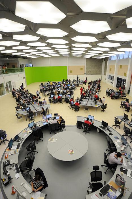 Mesa central de GN Medios. — Fuente: La Nación