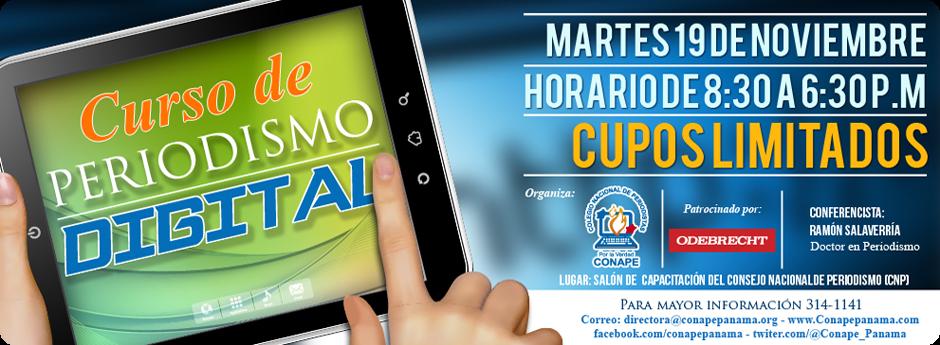 Curso de Periodismo Digital (Ciudad de Panamá, 19/11/2013)
