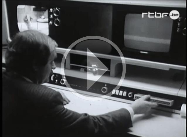 """Vídeo (2'30"""") de la serie """"Photographies du futur"""", emitido por la cadena belga RTBF en 1971. [Fuente: EUscreen.eu]"""