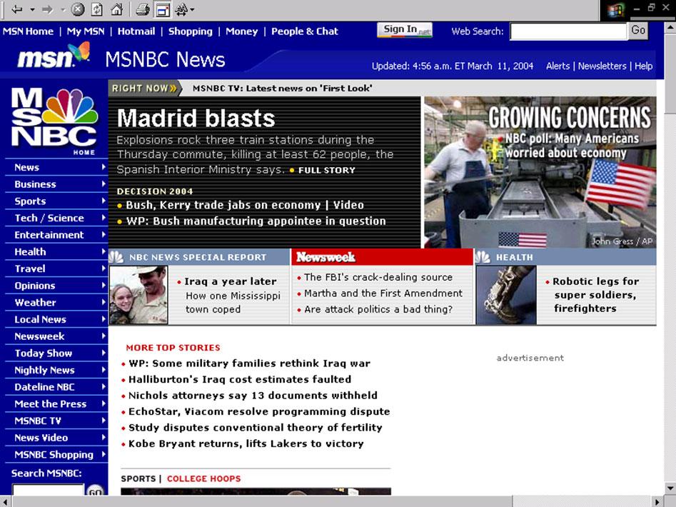 MSNBC.com, 10.56h