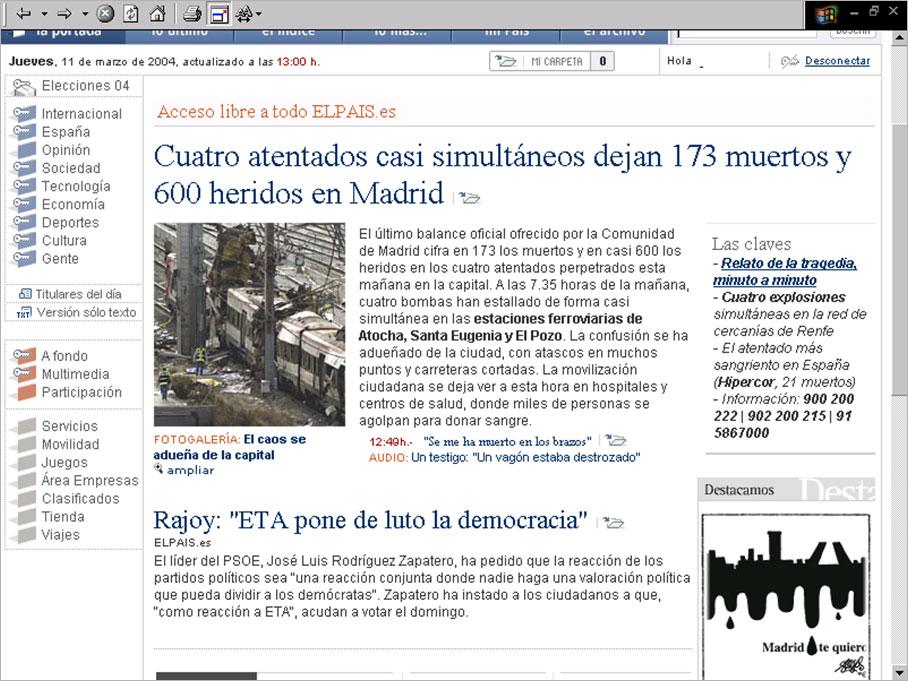 ElPais.es, 13.00h