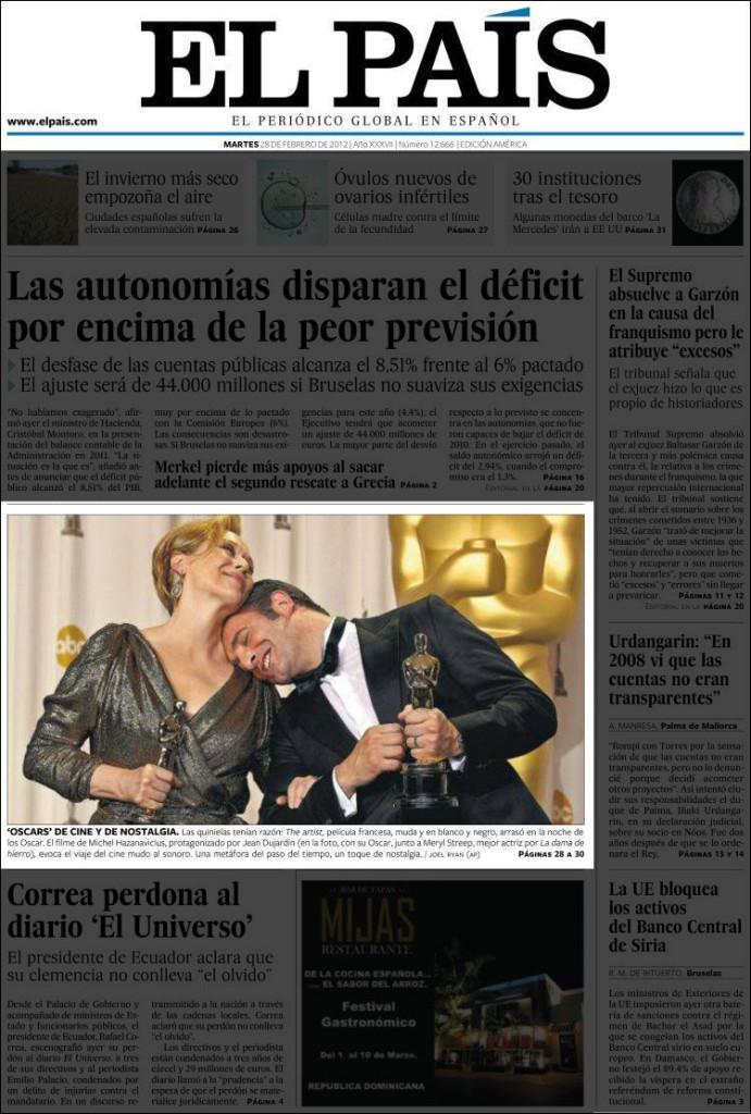 «El País», 28/2/2012