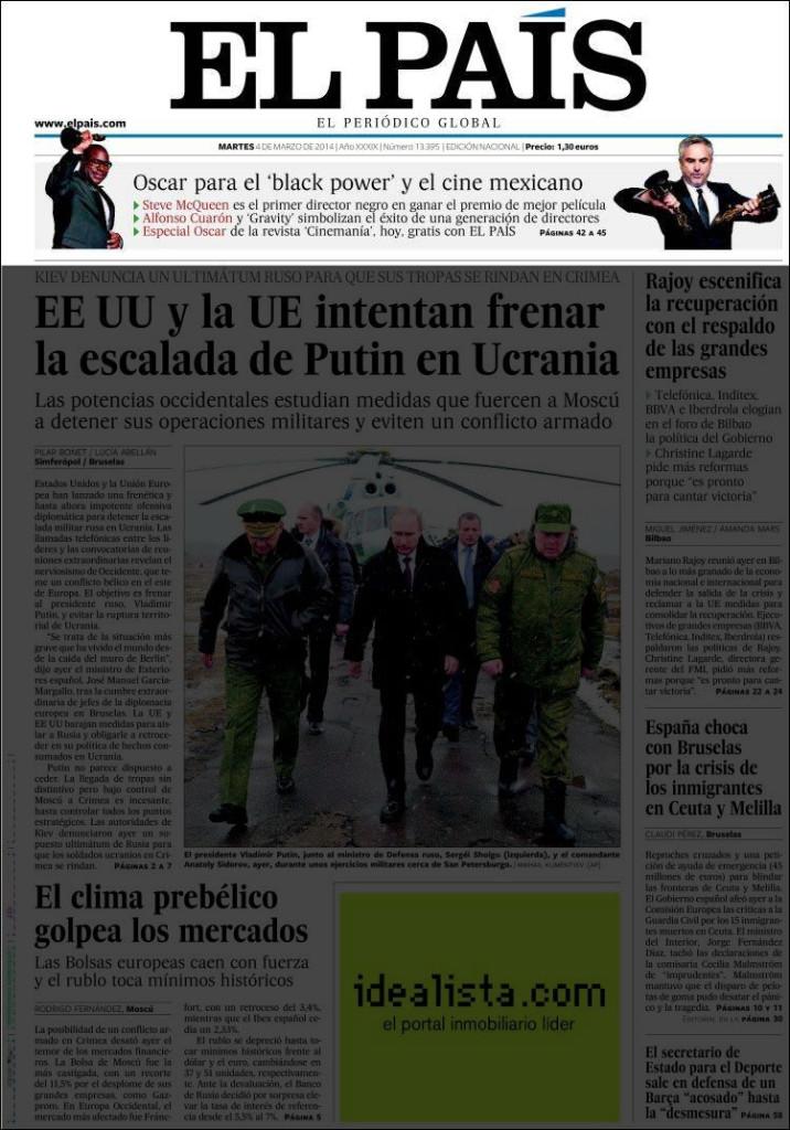 «El País», 4/3/2014