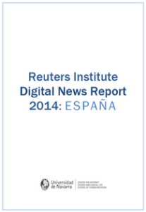 Reuters Institute Digital News Report 2014: ESPAÑA