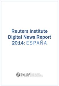 Reuters Institute Digital News Report 2014: ESPAÑA
