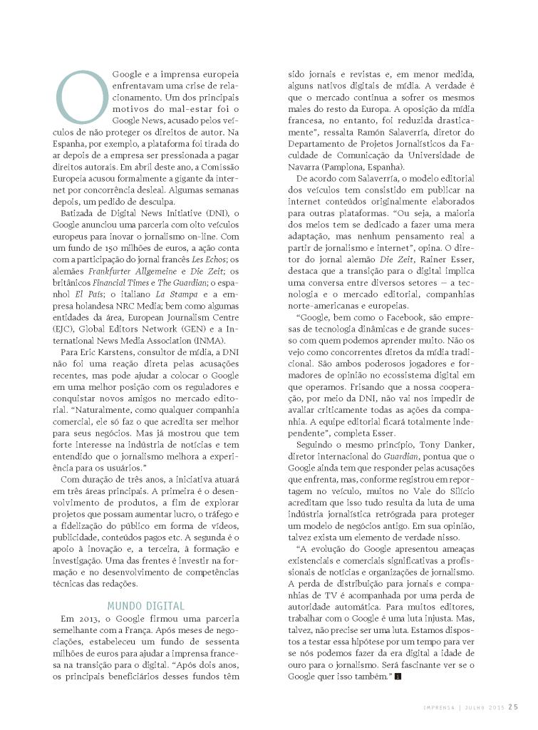 IMPRENSA 313 julio 2015  p25