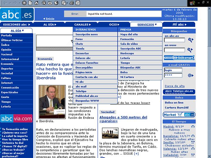 ABC, 2001