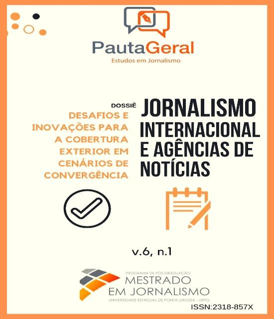 Revista Pauta Geral - Estudos em Jornalismo, v. 6, n. 1 (2019)